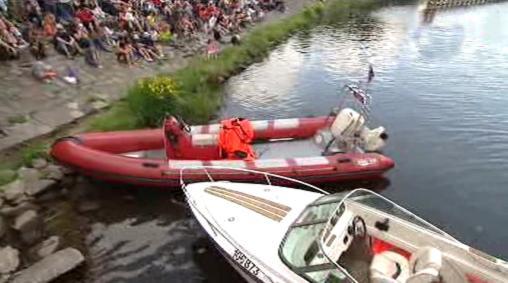 Přehlídka záchranných člunů