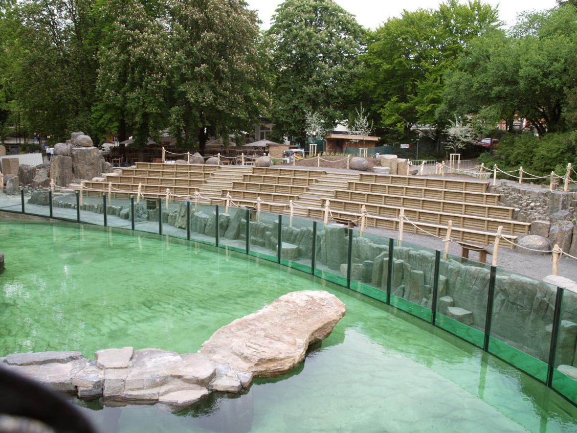 Nový lachtaní pavilon v Zoo Praha