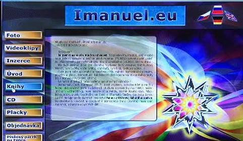 Internetová stránka Parsifala Imanuela Dvorského