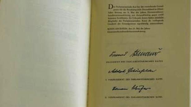 Kopie německé ústavy