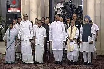 Indická vláda Manmóhana Singha