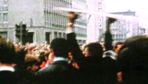 Studentské nepokoje v 60. letech v Německu
