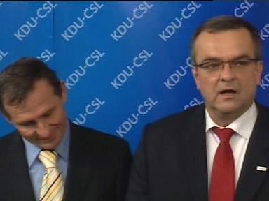 Miroslav Kalousek a Jiří Čunek