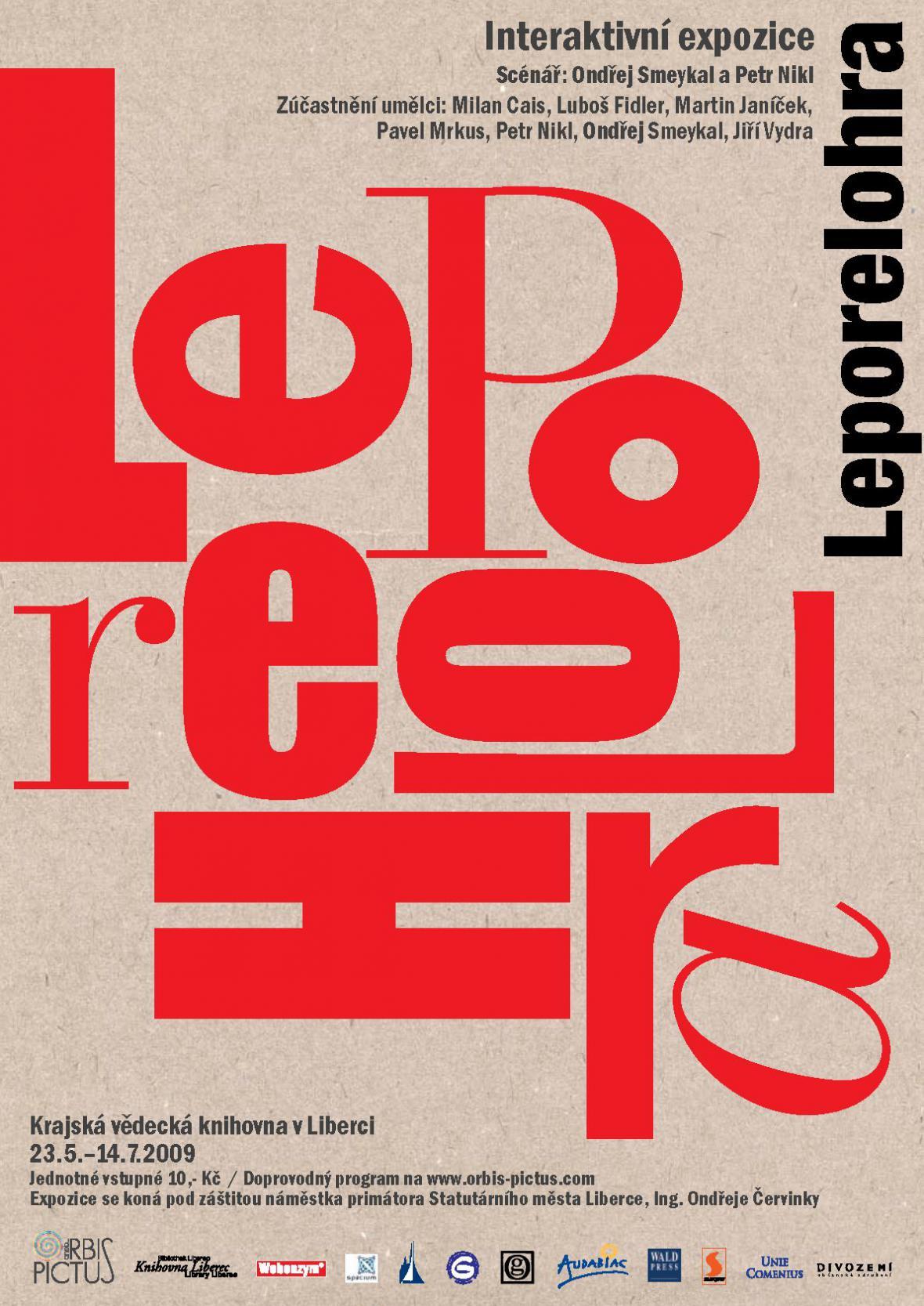 Leporelohra - plakát