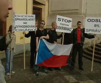 Demonstrace Národní strany