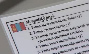 Jazyková karta