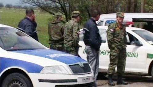 Gruzínské bezpečnostní složky