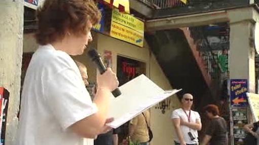 Proslov při protestu na pražských Lužinách