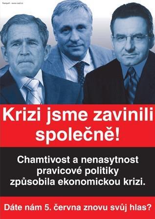 Předvolební kampaň ČSSD proti ODS