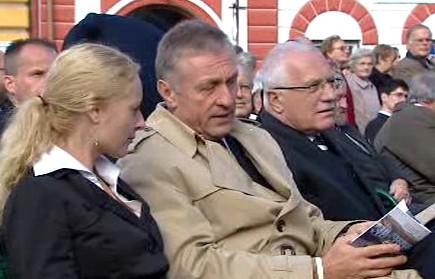 Mirek Topolánek a Václav Klaus