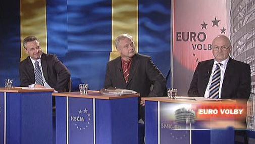 Europoslanci ve speciálu Otázek Václava Moravce