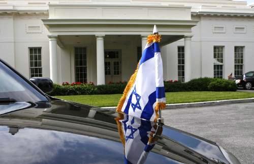 Izraelská delegace přijíždí k Bílému domu