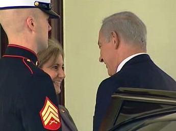 Benjamin Netanjahu přijel do Bílého domu