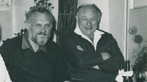Věněk Šilhán (vlevo) a František Kriegel