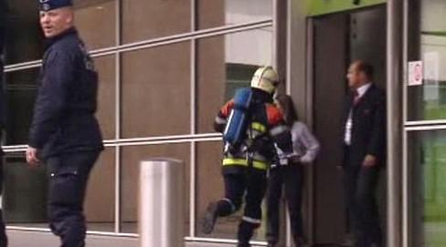 Požár budovy Evropské komise