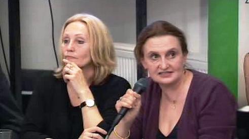 Olga Sommerová a Eva Holubová