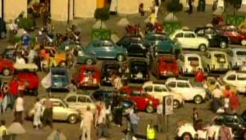 Italské automobily Fiat