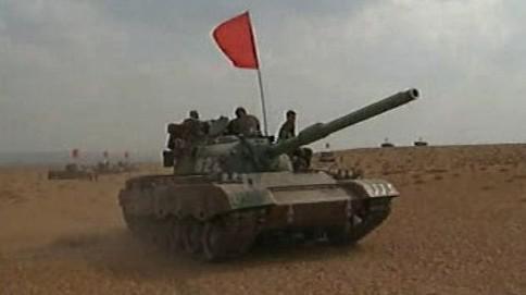 Tank čínské armády