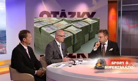 Hosté Otázek Václava Moravce