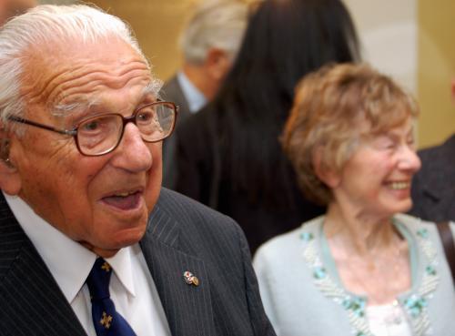 Nicolas Winton slaví sto let