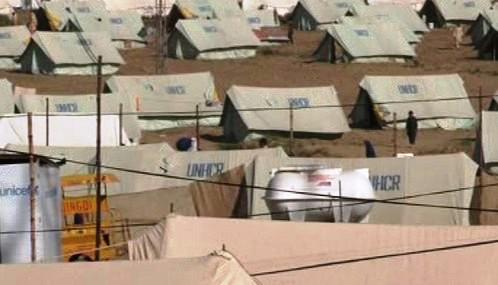 Pákistánský uprchlický tábor