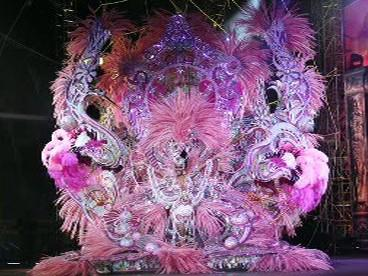 Vítězný kostým karnevalu na Tenerife
