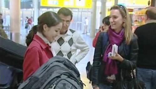 Roxana Saberiová přistála ve Vídni