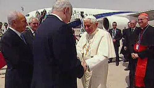 Benedikt XVI. ukončil návštěvu Izraele