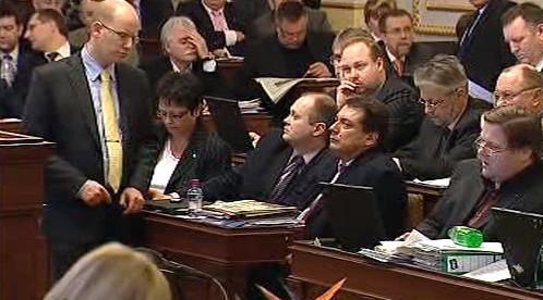 ČSSD po hlasování o poplatcích