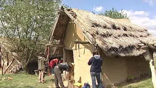 Pravěká vesnice u Všestar
