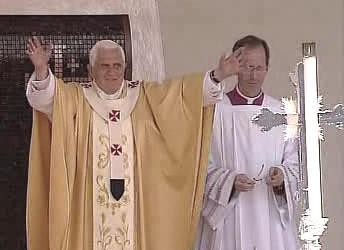 Papež Benedikt XVI. v Nazaretu
