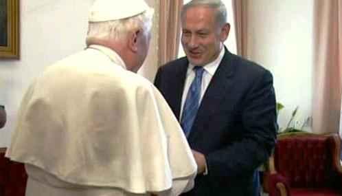 Benedikt XVI. a Benjamin Netanjahu