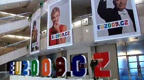 Logo českého předsednictví v Radě EU