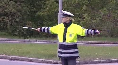 Policie řídí dopravu