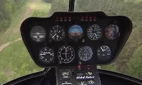 Vrtulník hlídající ropovod Ingolstadt