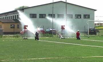 Okrsková soutěž dobrovolných hasičů