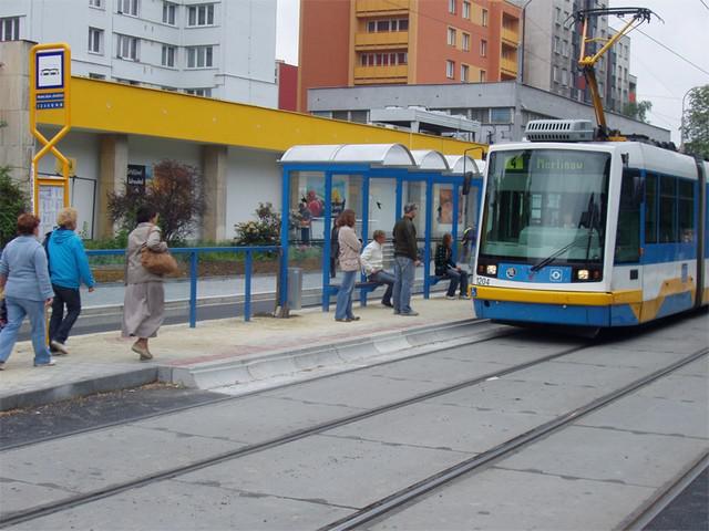 Zrekonstruovaná zastávka
