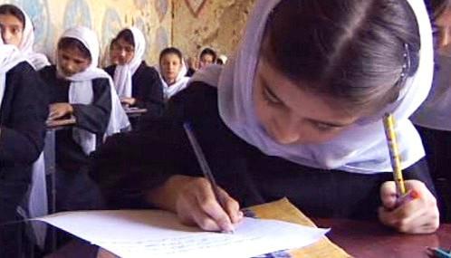 Afghánská dívčí škola