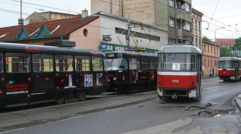 Střet tramvají