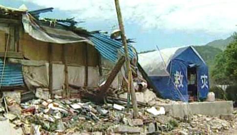 Následky zemětřesení v Číně