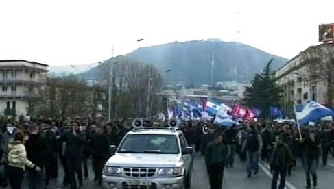 Demonstrace v Gruzii