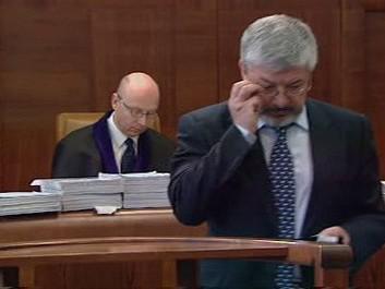 Vladimír Železný před soudem