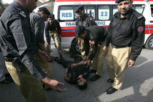 Oběť útoku v Pákistánu