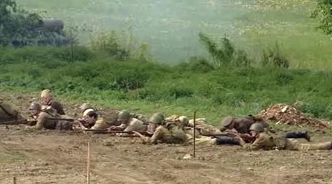 Rekonstrukce bitvy u Slivice