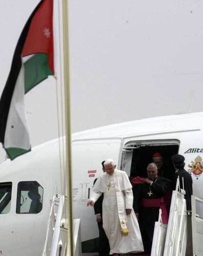 Benedikt XVI. v Jordánsku