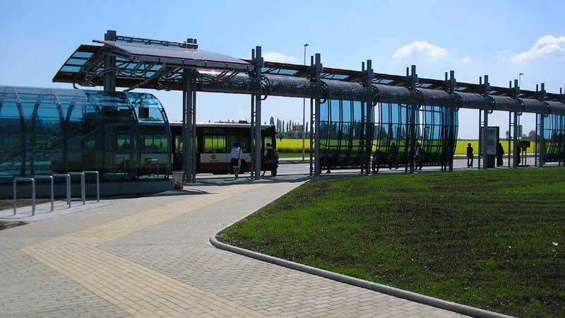 Okolí stanice metra Letňany