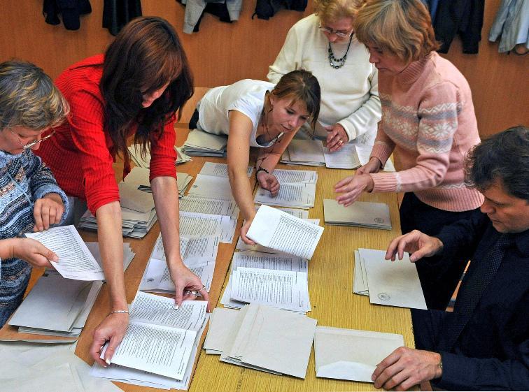 Povolební sčítání hlasů