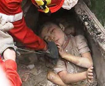 Oběť zemětřesení