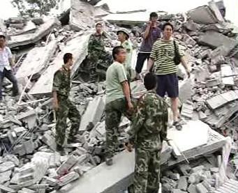 Odklízení trosek po zemětřesení