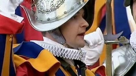 Člen Švýcarské gardy